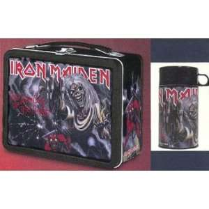 Iron Maiden Eddie #1 Metal Lunch Box with Thermos