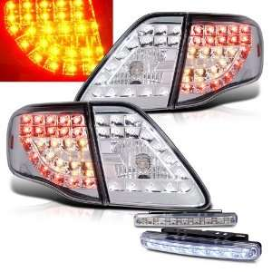 Eautolight 2009 2011 Toyota Corolla LED Chrome Tail Lights