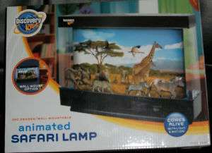 Discovery Kids Animated Safari Lamp Alive Light Motion