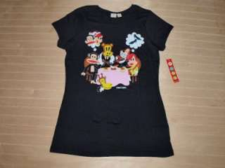 PAUL FRANK Julius Semi Romantic Dinner T shirt Black