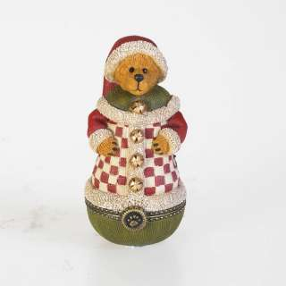 Boyds Roly Poly Santa Treasure Box 4018013