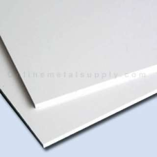 High Impact Polystyrene Plastic Sheet .020 x 35 x 120   White