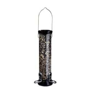in dia. 12 in Tube 2 port Sunflower/Mixed Seed Bird Feeder w/remova