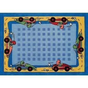 Home Dynamix Kidz Image Race Car Kids Rectangular Rug   KIDZ IMAGE 3