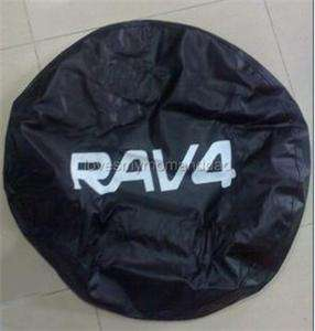 RAV4 Car Auto Motor Spare Wheel Tyre/Tire Foldable Cover Rear 16 inch