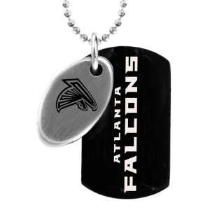 NFL Atlanta Falcons 2 Piece Two Tone Stainless Steel Sports Dog Tag
