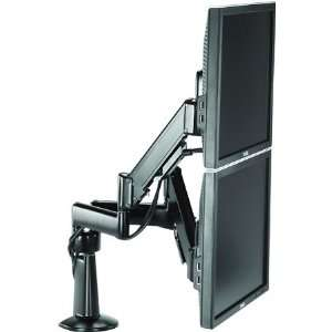 Adjustable Dual Arm Dual Monitor Desk Mou