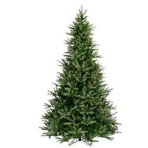 7.5 Pre Lit Frasier Fir Artificial Christmas Tree   Clear