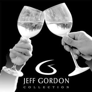 Get Etched Jeff Gordon Laser Etched Winery Coasters   Set Of 4