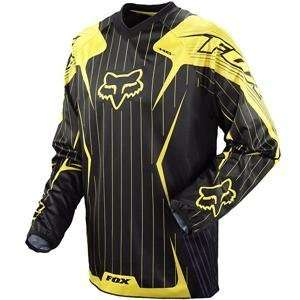 Fox Racing HC Jersey   X Large/Yellow Automotive