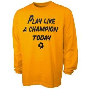 com NCAA adidas Notre Dame Fighting Irish Play Like A Champion Today