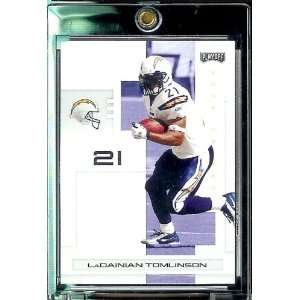 2007 Playoff NFL Playoffs Football # 81 LaDainian Tomlinson   San