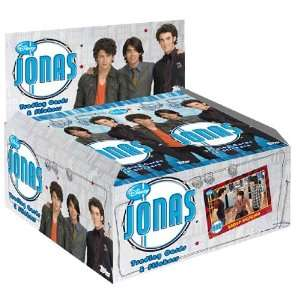 Jonas Brothers Trading Cards & Stickers Value Box (6 Packs