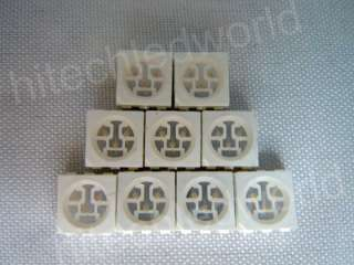50p PLCC 6 5050 SMT SMD 3 CHIPS RGB LED LAMP LIGHT
