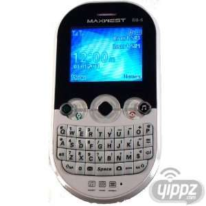Worldwide Quad Band GSM Dual SIM Smartphone w/Keyboard Cell Phones