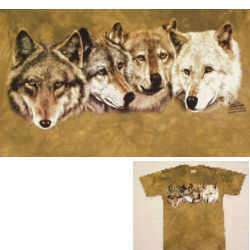 WOLF / WOLVES T SHIRTS   NEW   ADULT AND CHILD SIZES