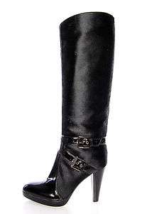 1283 GIANVITO ROSSI Womens Knee High Boots GD8045.000 Skin Horse