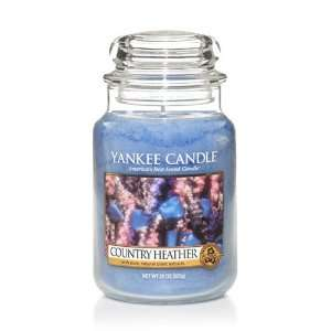 Country Heather   22 Oz Large Jar Yankee Candle