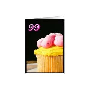 Happy 99th Birthday Muffin Card Toys & Games