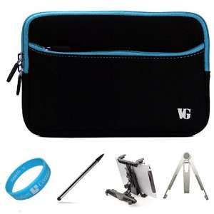 Blue Trim Durable Neoprene Sleeve Carrying Case for T