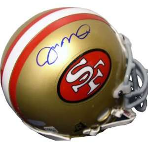 Joe Montana San Francisco 49ers Autographed Authentic Mini Helmet