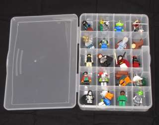 New LEGO CASE Minifigures Minifig Collection Storage Box Case   x 20