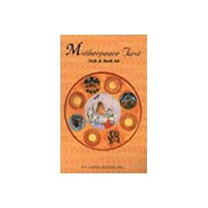 Mini Motherpeace Round Tarot Deck and Book Set Toys
