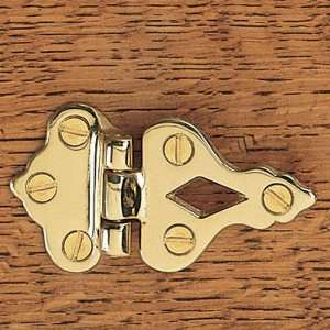 Rockler Solid Brass Icebox Offset overlay hinge (pair