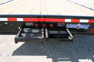 New 22 x 102 Bumper Pull Deckover Flatbed Equipment / Tractor