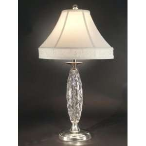 Dale Tiffany Irvington Table Lamp with Brushed Nickel