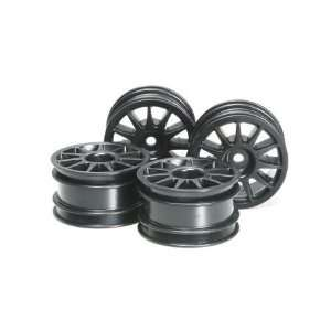 49461 M Chassis 11 Spoke Wheels Black (4) Toys & Games
