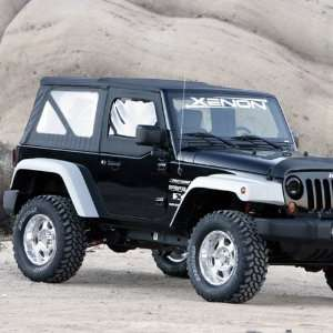 Xenon 8890 07 12 Jeep Wrangler Unlimited 4 Door Step Down