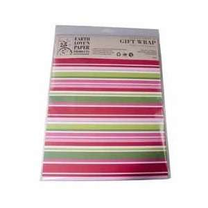 Classic Stripe Gift Wrap from Earth Loven Paper Arts