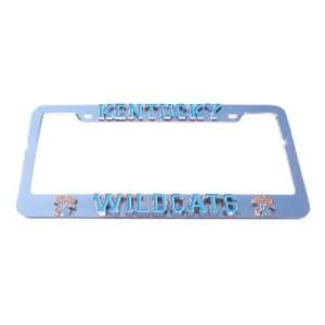Kentucky Wildcats License Plate Tag Frame Sports