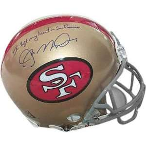 Joe Montana San Francisco 49ers Autographed Authentic