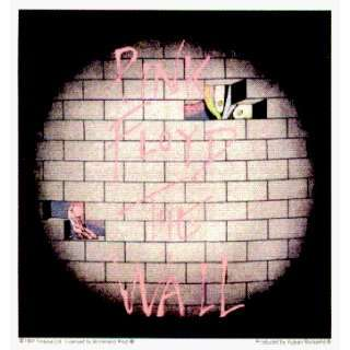 Pink Floyd   The Wall Logo with Bricks   Sticker / Decal