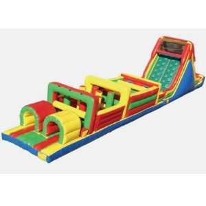 Kidwise Obstacle Course Bounce House (Commercial Grade