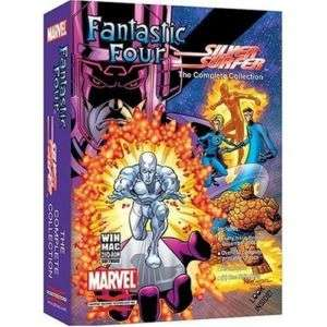 FANTASTIC FOUR COMPLETE COLLECTION MARVEL DVD ROM NEW