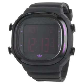 Adidas Mens ADH2077 Black Seoul Digital Watch   designer shoes