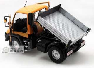 New Mercedes Benz UNIMOG U400 SUV124 Alloy Diecast Model car Yellow
