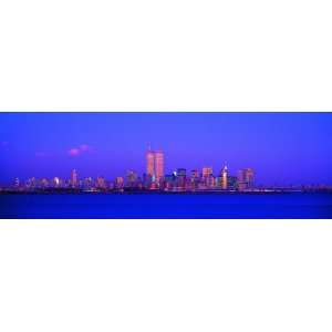 Panoramic Wall Decals   New York City Skyline with the