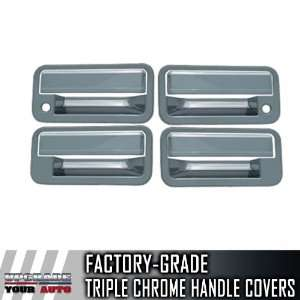 1992 1999 Chevrolet Tahoe 4dr Chrome Door Handle Covers