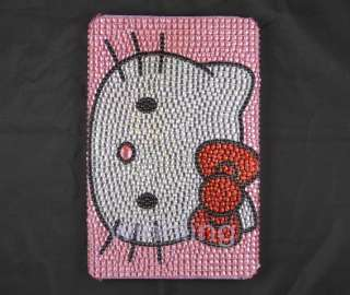 Bling crystal Hello kitty Cover for  Kindle Fire Tablet Back