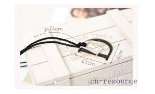 Korean Style fashion double D long Simple Necklace