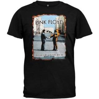 Floyd The Barber Pink Floyd Mens T Shirt (Black) Clothing