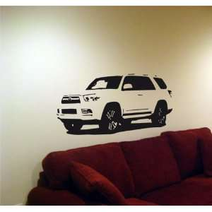 Wall MURAL Vinyl Sticker Car TOYOTA 2011 4RUNNER 005