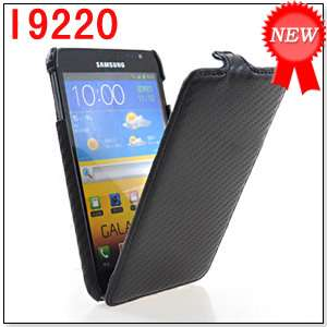 HARD BACK CASE COVER SAMSUNG GALAXY NOTE GT N7000 I9220 BLACK