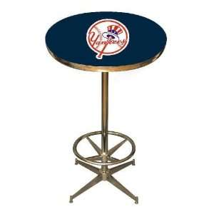 New York Yankees 40in Pub Table Home/Bar Game Room