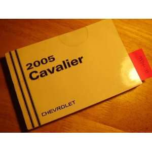 2005 Chevy Chevrolet Cavalier Owners Manual Chevrolet Books