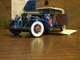 Franklin mint 1/24th scale 1932 Cadillac V 16